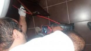 Kamera ile boru pimaş içi görüntüleme